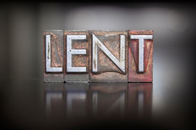 Lent Letterpress